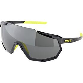 100% Racetrap Bril, gloss black/smoke